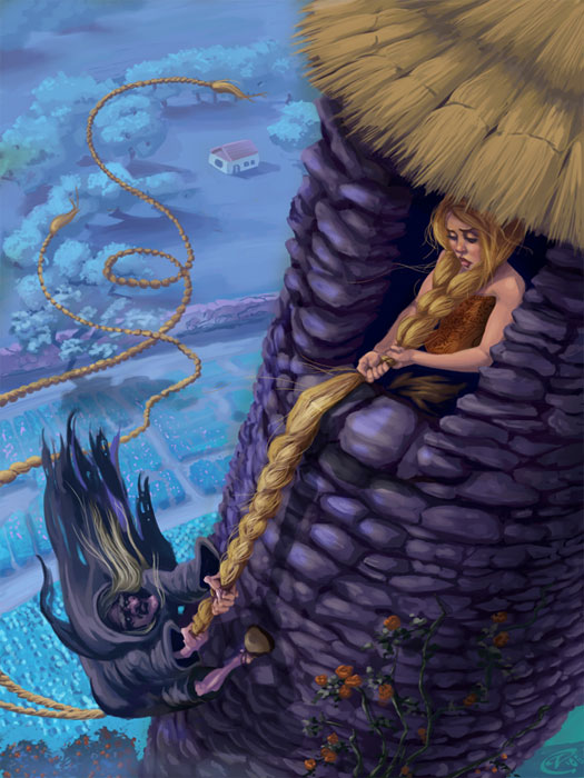 Rapunzel Random