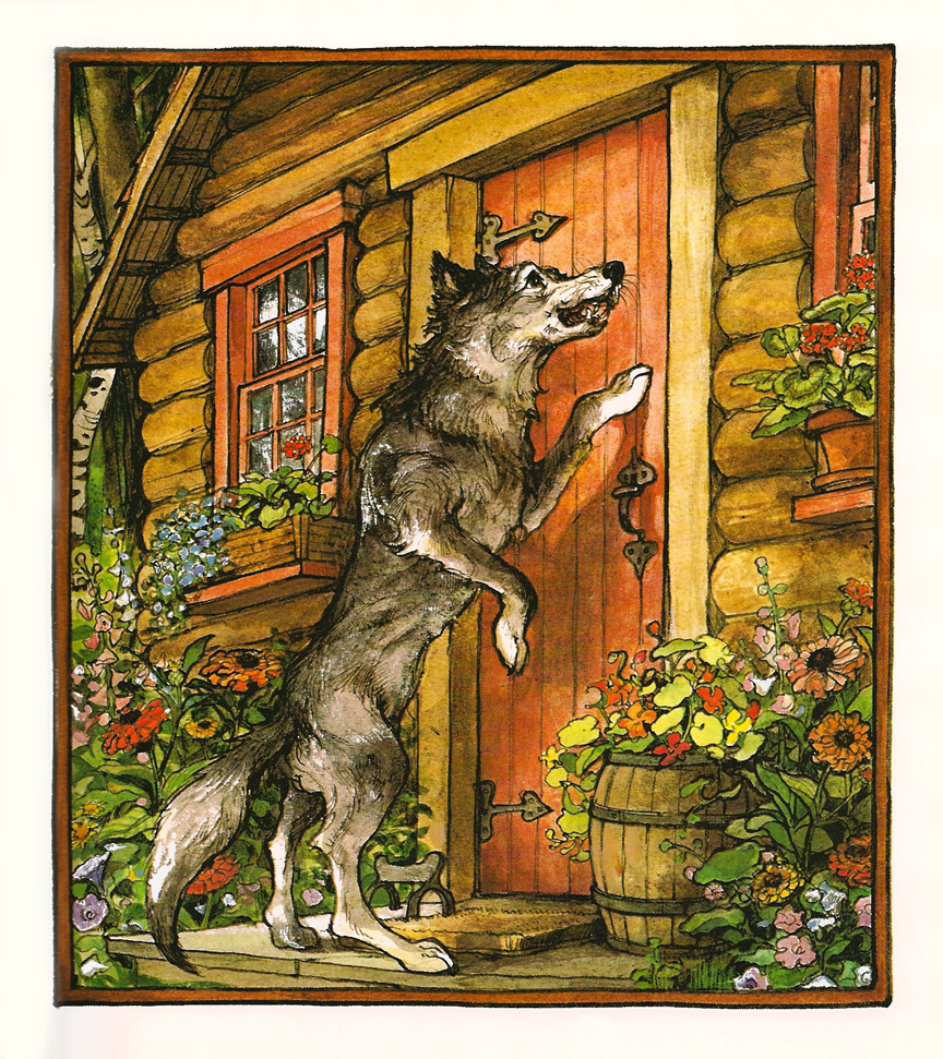 Wolf at Grandma's door