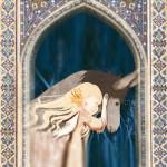 A blue dove