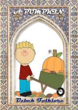 A pumpkin, uzbek folklore