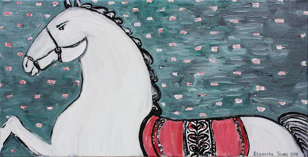 A pumpkin_white_horse_girl