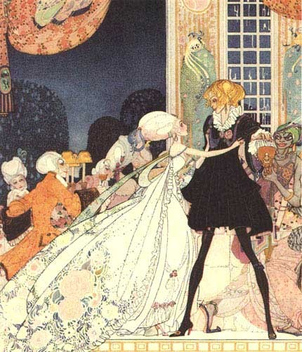 The twelve dancing princesses_Brothers Grimm_dance hall