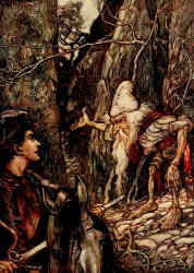 The water of life_brothers grimm_dwarf