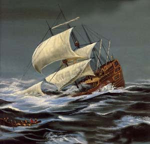 The_Three_Snake_Leaves_by_brothers_grimm_sinking_ship